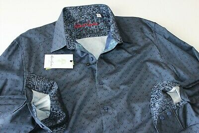 Robert Graham Shirt Ramblewood Embroidered Multi RSS181014CF Classic Fit LS