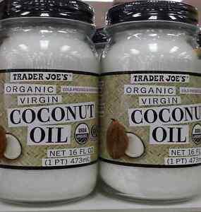 2 x trader joe 39 s organic coconut oil 32 ounces total free for Trader joe s fish oil