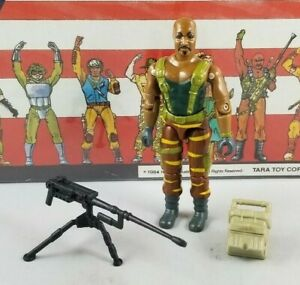 Original-1988-GI-JOE-ROADBLOCK-V3-Tiger-Force-UNBROKEN-figure-ARAH-not-COMPLETE