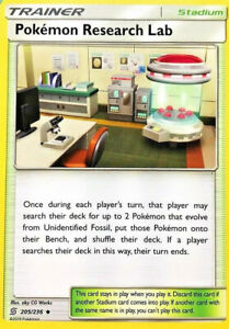 Pokemon-Research-Lab-205-236-Trainer-Card-x4-Playset-Unified-Minds