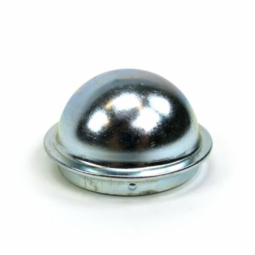 Replacement 50mm Metal Dust Cap Wheel Hub Trailer Bearing Dust Grease Cover