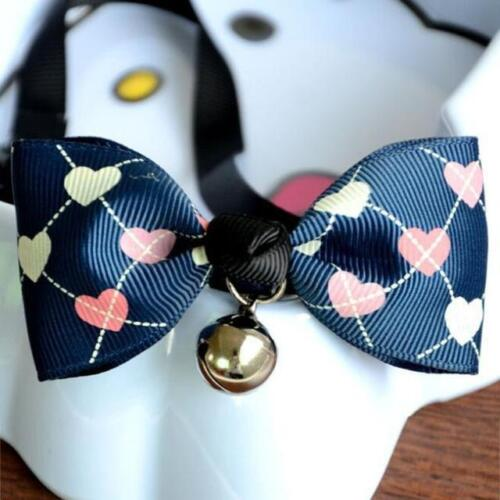 Bow Tie w// Bell Charming Cat