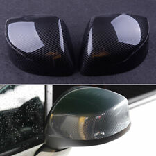 Carbon Fiber Style Rear Mirror Cover Caps Fits For Honda Civic 9th 2012 2013 Fits Honda