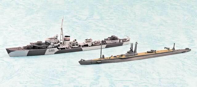 AOSHIMA HMS JUPITER SP BRITISH DESTROYER 1/700 Plastic model | eBay