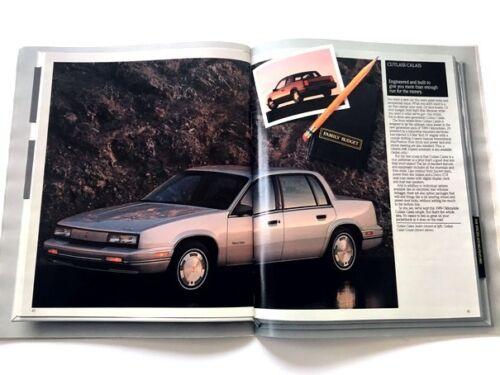 Cutlass Supreme Calais Ciera GT Cruiser 1989 Oldsmobile 54-PAGE Sales Brochure