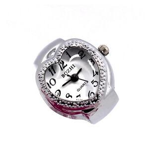 Creative-Women-Lady-Heart-Polka-Dot-Adjustable-Ring-Finger-Quartz-Watch-Gift