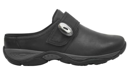 Select Size Easy Spirit Women/'s Equip Comfort Clog Black Leather