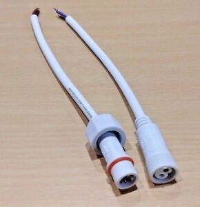 8 DEL Connecteur pour DEL Tube Lampe éclairage 30 cm 2 broches T4//T5//T8 Figure