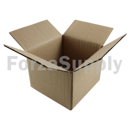 "100 6x6x5 /""EcoSwift/"" Brand Cardboard Box Packing Mailing Shipping Corrugated"