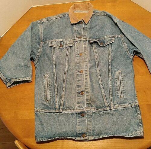 Vintage Levi's Coat Jacket Blue Jean Denim Men's M
