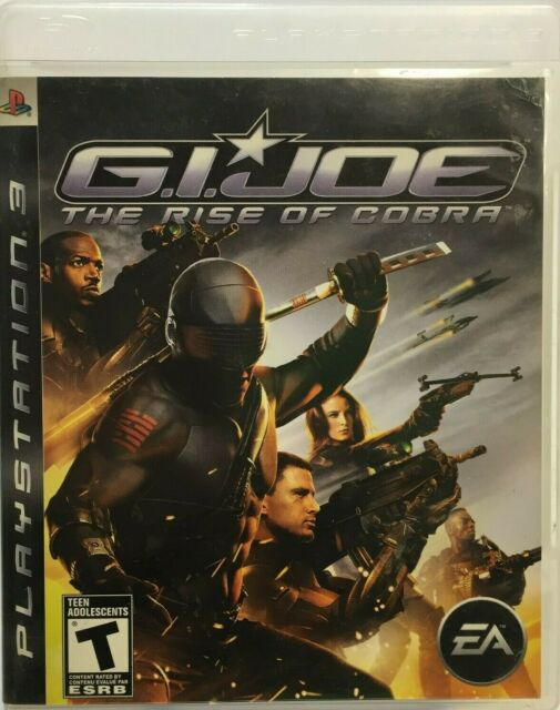 G.I. JOE - Rise of Cobra (Sony PS3 ) Includes Manual Free Shipping In Canada