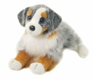 Douglas-Sinclair-AUSSIE-SHEPHERD-Dog-Plush-Toy-Stuffed-Animal-NEW