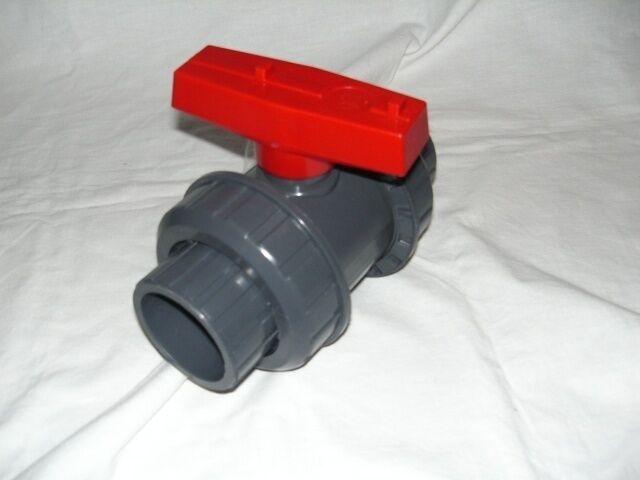 110 mm PVC Kugelhahn Absperrhahn  Klebemuffe Koiteich