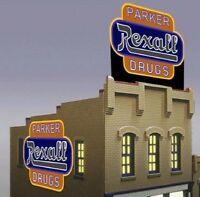 Rexall Drugs Animated Sign 7582 N Miller Engineering