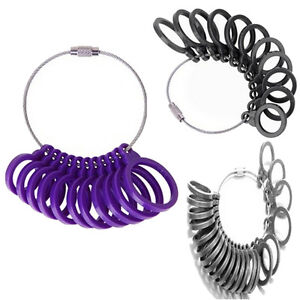 New-Ring-Mandrel-Finger-Sizer-Gauge-Stick-Set-Measuring-US-Size-3-13-Jewelry-WKA