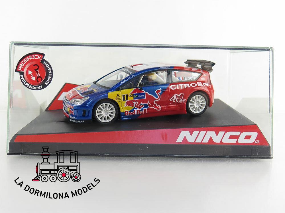 NINCO 50514 CITROËN C4 WRC rouge BULL LOEB  1 -  NUEVO A ESTRENAR