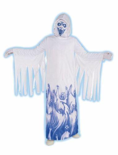 CHILDRENS//BOYS HALLOWEEN FANCY DRESS COSTUME GHOST SOUL TAKER BOYS COSTUME