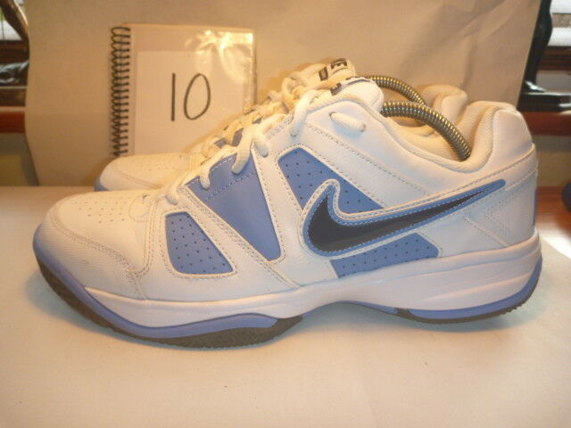 NIKE CITY COURT VII TRAINERS SIZE WHITE LEATHER
