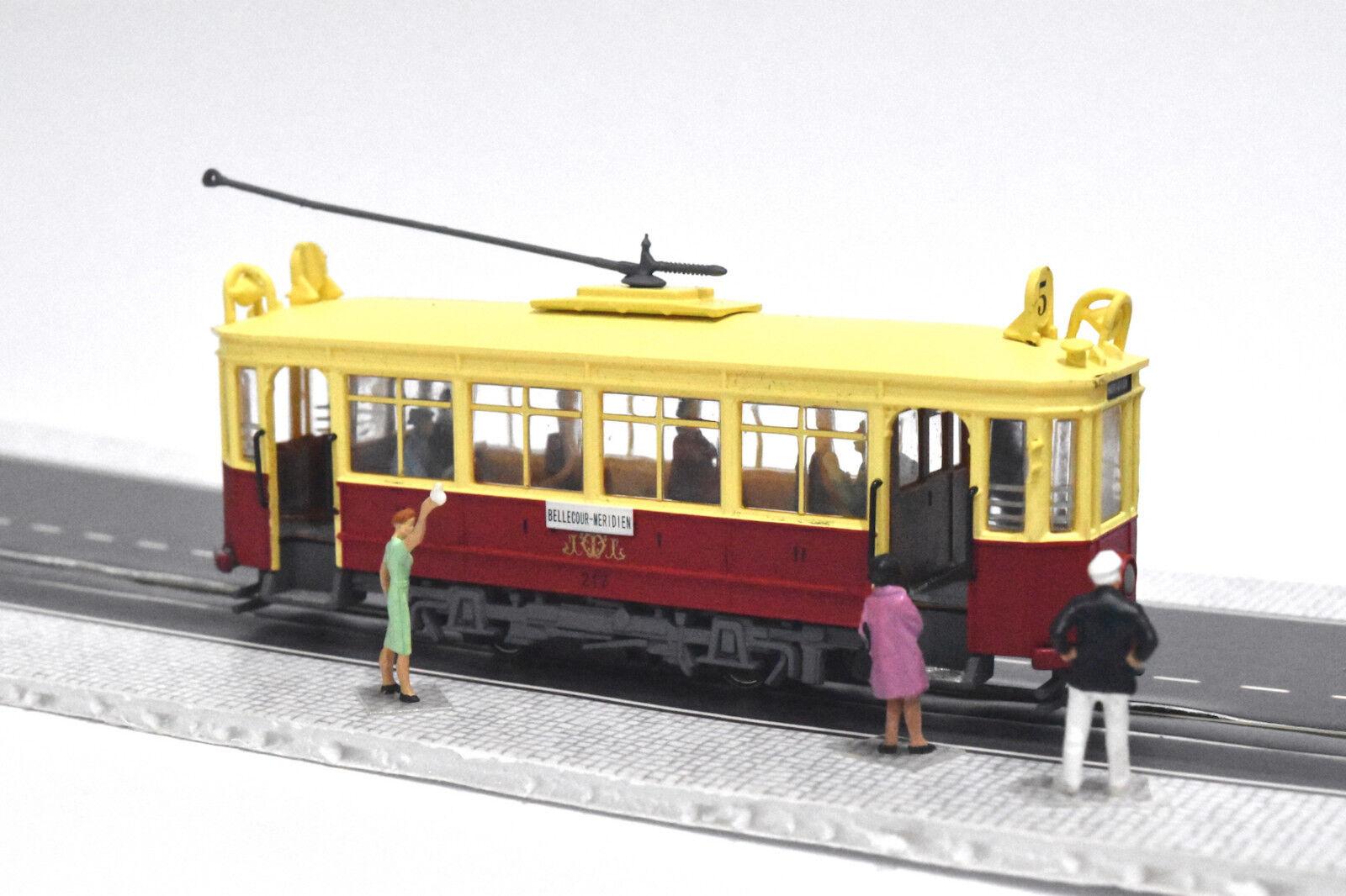 Lyon Motrice B tram - 1926 HO N gauge (HOe) - motorized figures KATO ATLAS