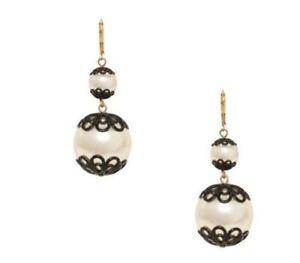 fe3e21935 Image is loading Kate-Spade-Japanese-Pearls-Earrings-NWT-Florence -Broadhurst-