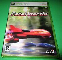 Fatal Inertia Xbox 360 - Factory Sealed Free Shipping