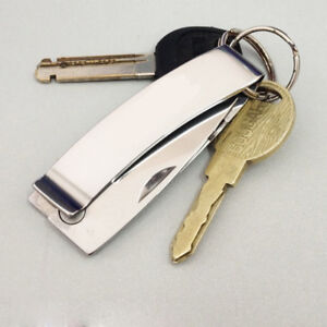 Multifunktions-Mini-Klappmesser-Money-Angeln-Camping-Wandern-Werkzeug-Verkauf