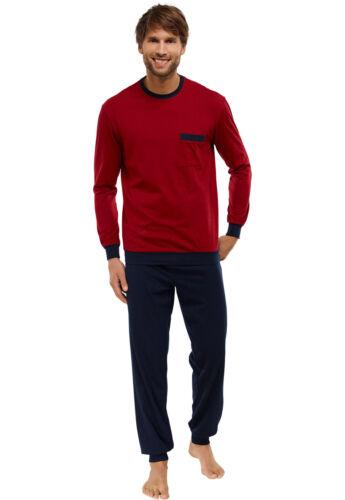 Schiesser fonc pyjama long hommes pyjama pour rouge wpRqxwrnfY