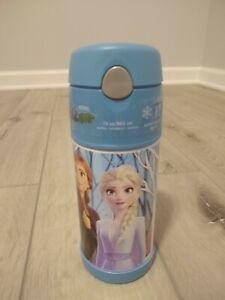 Disney-Frozen-2-Thermos-Anna-Elsa-Olaf-Stainless-Steel-Funtainer-Bottle-12oz