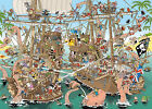 Jumbo 19204 Pieces Of History - die Piraten 1000 teile Puzzle