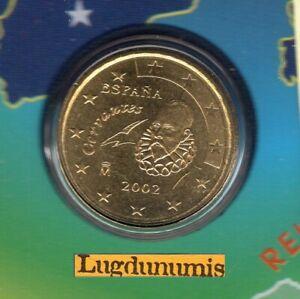 Espagne 2002 10 centimes d'euro FDC provenant coffret BU 99301 exemplaires