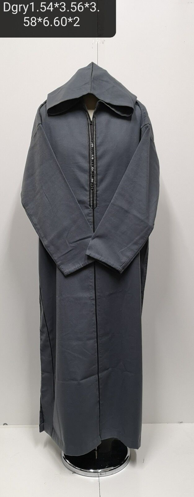 Size 60 Men Mgoldccan  winter wool hooded thobe Djelleba jubba-New Arrival
