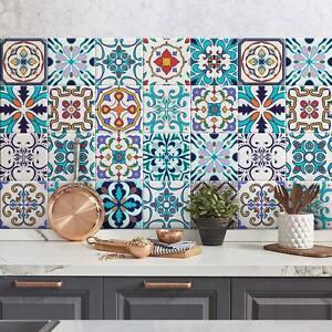 Ps00074 adesivi murali in pvc per piastrelle per bagno e - Adesivi per piastrelle cucina ...