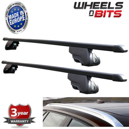 Black Steel Roof Rack for Integrated Bars BMW 3 Series Touring F31 2012 to 2016