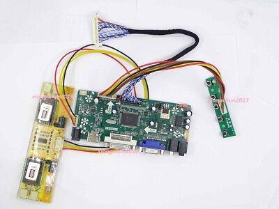 HDMI+DVI+VGA LCD LED controller Driver Board Lvds Monitor kit for N116BGE-L41