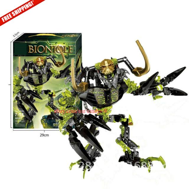 Umarak the Destroyer Bionicle Biochemical Warrior Building Block Figure Toy Gift