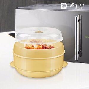 tap it tap dampfgarer f r die mikrowelle mikrowellenteller mikrowellengeschirr ebay. Black Bedroom Furniture Sets. Home Design Ideas