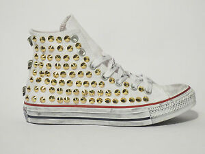 Converse Craft Gold Chaussures All Star Studs Skull Chuch Hi Taylor PZuOkwiXT
