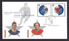Canada  FDC  # 1935    NHL ALL STARS    2002 ab     New Fresh Unaddressed