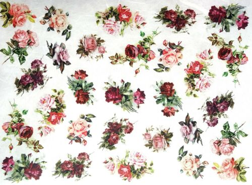 Rice Paper for Decoupage Scrapbook Sheet Craft Vintage Home Sweet Home