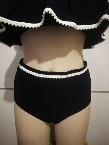 NEW SU20 J Crew Bikini samples unique styles Marysia scallop laser-cut highwaist