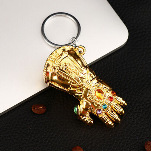 Avengers 4 Endgame Thanos Gant de pouvoir infini Gantelet Porte-clés Keyring
