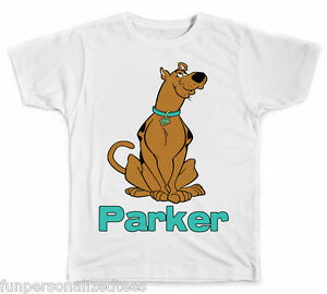 e54b128b Image is loading Personalized-Scooby-Doo-T-Shirt