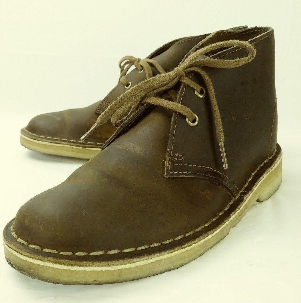 Clarks Originals Wos 11826 bottes Chukka US5 EUmarron Leather Crepe Sole 5337
