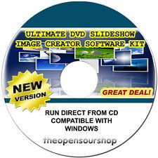 Slideshow MAKER CD | rendere personalizzata foto presentazioni con il nostro software creativo KIT