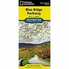 Blue Ridge Parkway, USA: Destination Map by National Geographic Maps (Sheet map, folded, 2015)