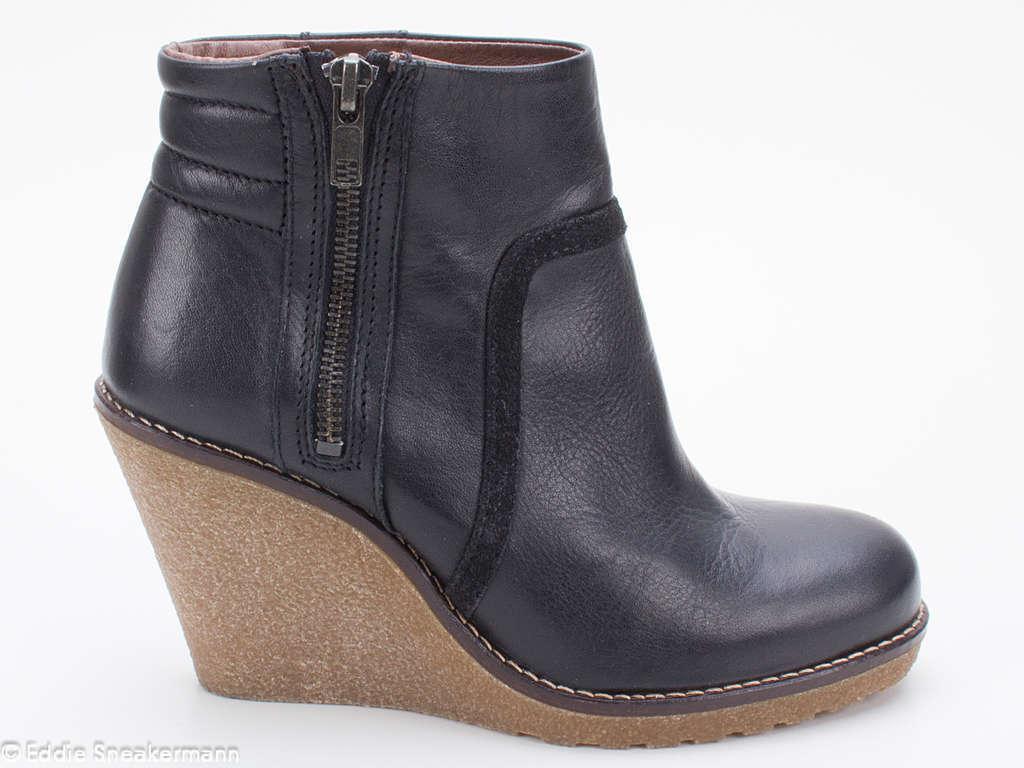 Buffalo High schwarz Heel Stiefelette ES 30093 schwarz High f1e4ef