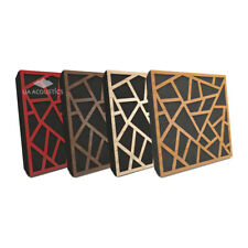 4Stück//1m²-50x50x4cm Akustikschaum Plattenabsorber glatt aus Basotect® weiß