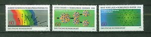 ALEMANIA-RFA-WEST-GERMANY-1979-MNH-SC-1299-1301-Science-Nobel-Prize