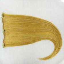 extensions à clips peruk cheveux blond clair doré ref: lg26