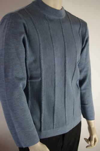 Maglia Vintage True 70s Blue Gr Cylain Nos uomo Sweater Blue da 70's Sweater 46 aag1Tq